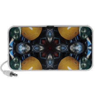 Abstract Auto Artwork One iPod Speakers