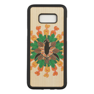 Abstract Autumn Harvest Collage Carved Samsung Galaxy S8+ Case