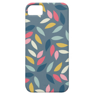 Abstract Autumn Inspired Leaves Pattern Barely There iPhone 5 Case