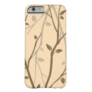Abstract Autumn Leaves Barely There iPhone 6 Case