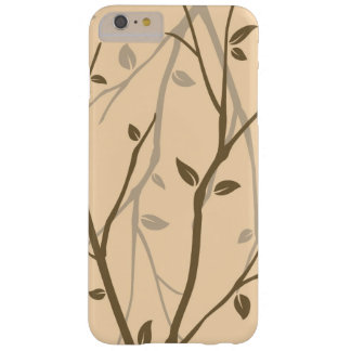 Abstract Autumn Leaves Barely There iPhone 6 Plus Case