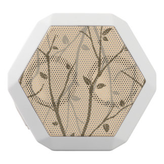 Abstract Autumn Leaves White Boombot Rex Bluetooth Speaker