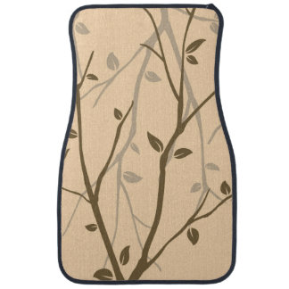 Abstract Autumn Leaves Car Mat
