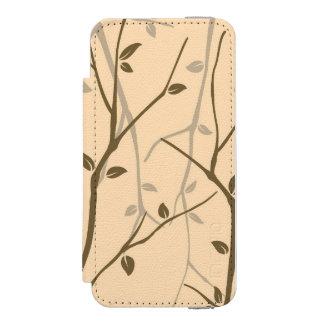 Abstract Autumn Leaves Incipio Watson™ iPhone 5 Wallet Case