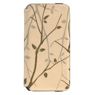 Abstract Autumn Leaves Incipio Watson™ iPhone 6 Wallet Case