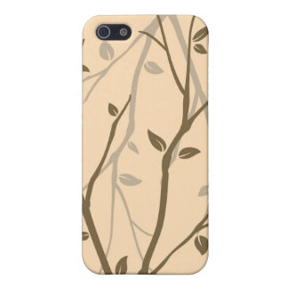 Abstract Autumn Leaves iPhone 5/5S Cases