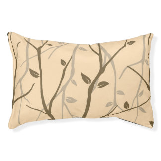 Abstract Autumn Leaves Pet Bed