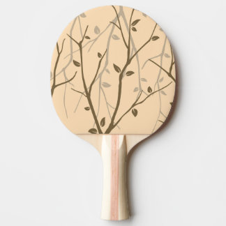 Abstract Autumn Leaves Ping Pong Paddle