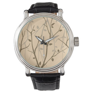 Abstract Autumn Leaves Watch