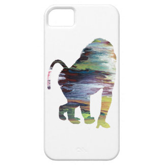 Abstract Baboon Silhouette. iPhone 5 Cases