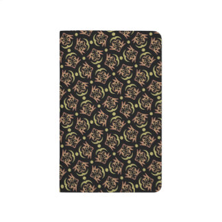 Abstract Background Black And Brown Pattern Journal