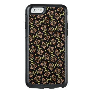 Abstract Background Black And Brown Pattern OtterBox iPhone 6/6s Case