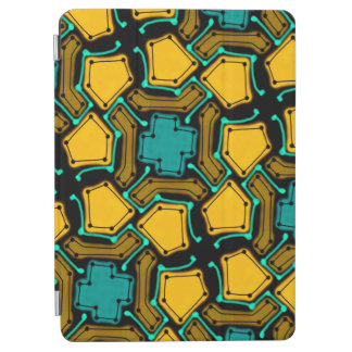 Abstract Background Blue And Brown iPad Air Cover