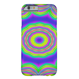 Abstract Background Blue And Green Concentric Star Barely There iPhone 6 Case