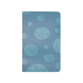 Abstract Background Blue Circles Journal