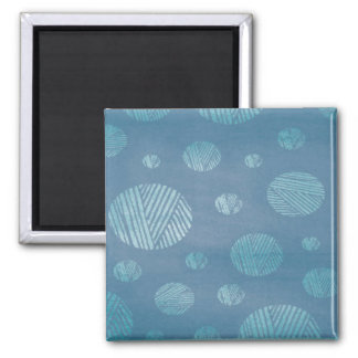 Abstract Background Blue Circles Magnet