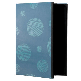 Abstract Background Blue Circles Powis iPad Air 2 Case