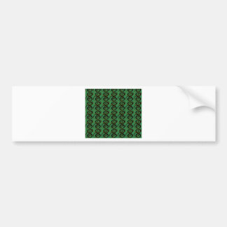 abstract background bumper sticker
