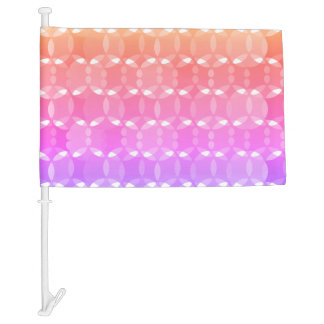 Abstract Background Car Flag