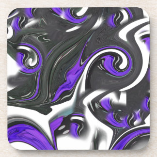 abstract background coaster