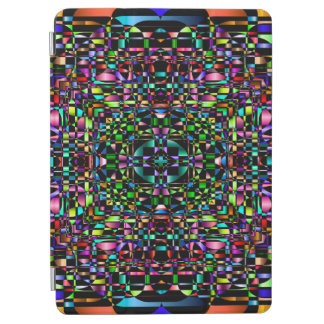 Abstract Background Colored Circle Grid iPad Air Cover