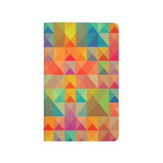 Abstract Background Colorful Journal
