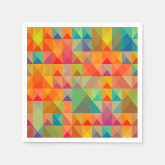Abstract Background Colorful Paper Napkins