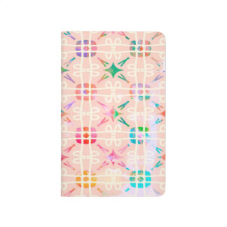 Abstract Background Colorful Watercolor Journal