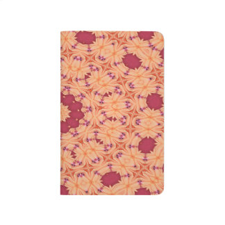 Abstract Background Concentric Flowers Journal