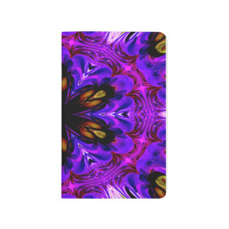 Abstract Background Dark Purple And Blue Journal