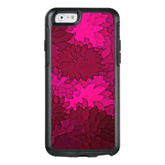 Abstract Background Dark Purple Floral OtterBox iPhone 6/6s Case