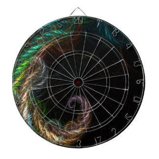 abstract background dart boards