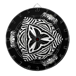 abstract background dartboard