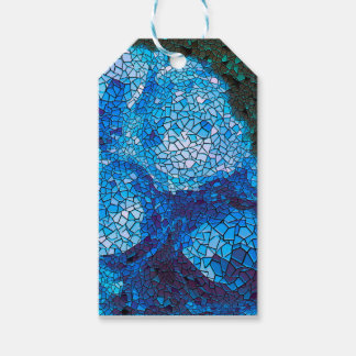 abstract background gift tags
