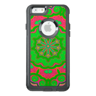 Abstract Background Green And Pink OtterBox iPhone 6/6s Case