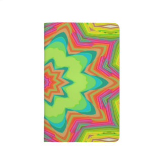 Abstract Background Green Colorful Journal