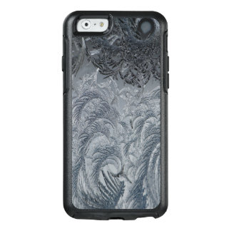 Abstract Background Grey Feathers OtterBox iPhone 6/6s Case