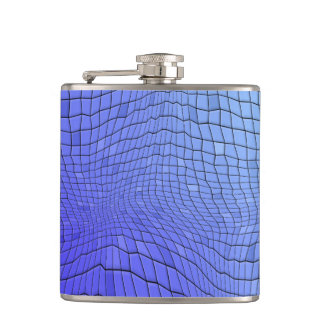 abstract background hip flask