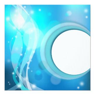 Abstract background Invitation 13 Cm X 13 Cm Square Invitation Card