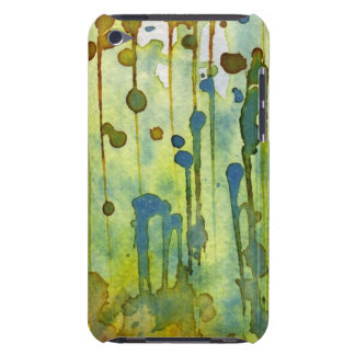 abstract background iPod touch case