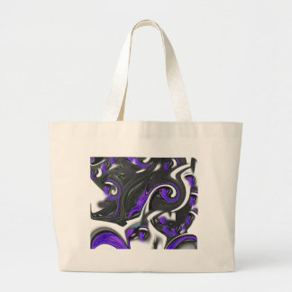 abstract background large tote bag