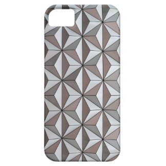 Abstract background made from triangles iPhone 5 cases