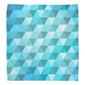 Abstract background made of mosaic pattern bandana
