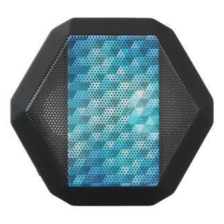 Abstract background made of mosaic pattern black bluetooth speaker