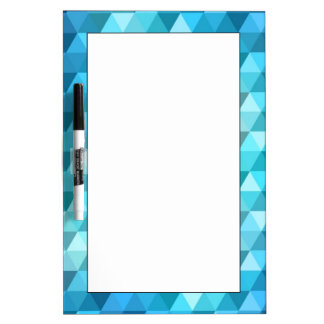 Abstract background made of mosaic pattern dry erase board