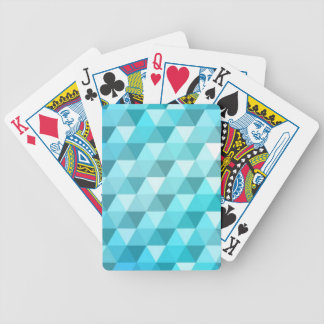 Abstract background made of mosaic pattern poker deck