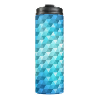 Abstract background made of mosaic pattern thermal tumbler