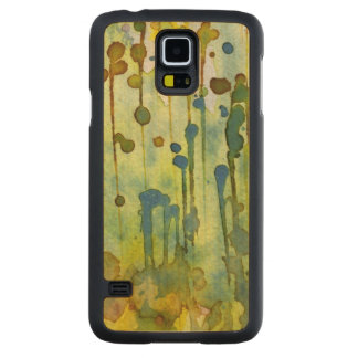 abstract background maple galaxy s5 case