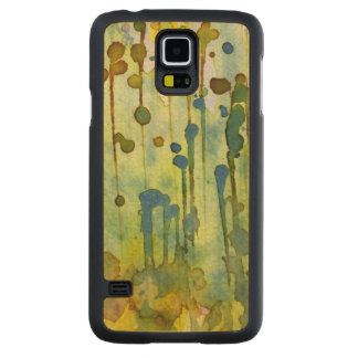abstract background maple galaxy s5 slim case