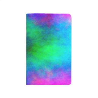 Abstract Background Multi Color Watercolor Journal
